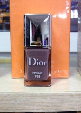 Dior лак для нігтів