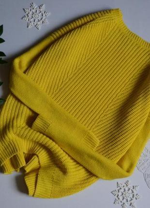 Светрик жовтий симетричної в'язки tu