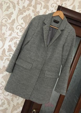 Актуальное серое пальто