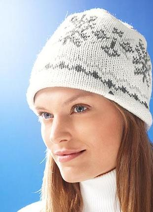 Теплая шапка на флисе tchibo tcm