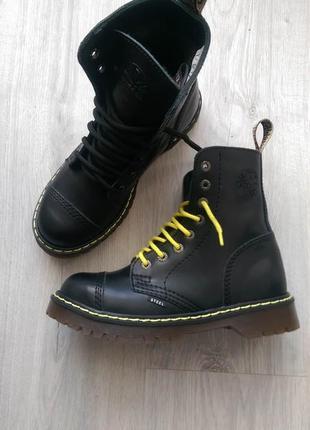 Зимние женские ботинки steel кожа, 38  размер в наличии можна заказать другые