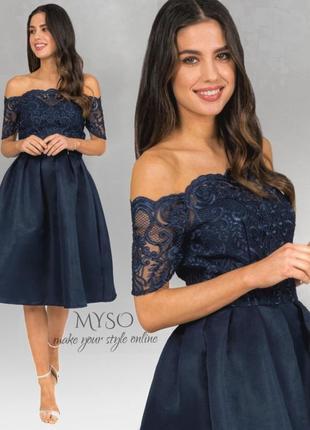 💫новогодний ценопад 💫роскошное платье для миниатюрной девушки chi chi london