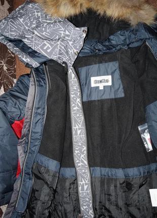 Теплая зимняя куртка donilo для мальчика донило данило5 фото