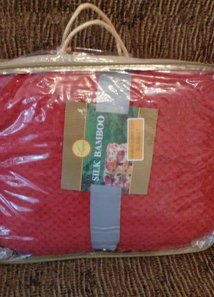 Бесподобный  бамбуковый плед 200*230 в сумке.  бесплатная доставка2 фото