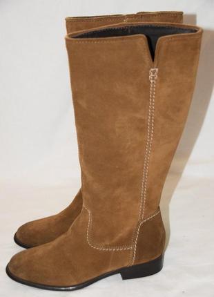Демисезонные женские сапоги замшевые geox 36   размер новые с бирками