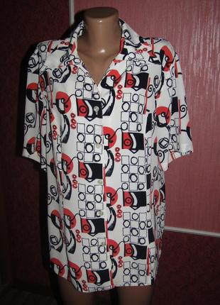 Рубашка р-р хл-16 бренд gerwaldi
