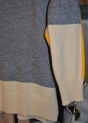 Новый стильный женский свитер мультиколор5