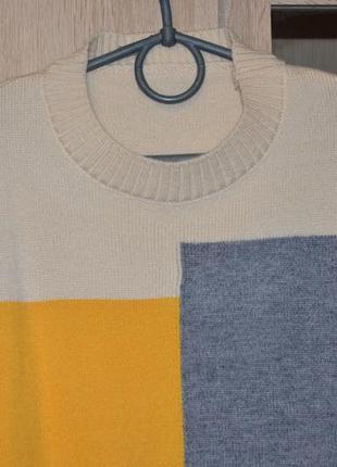 Новый стильный женский свитер мультиколор4