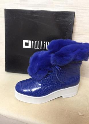 Супер-теплые и стильные ботинки для модницы
