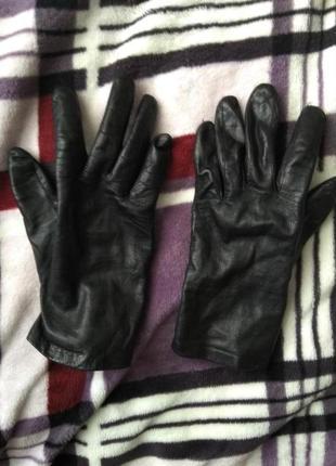 Рукавицы кожаные, перчатки