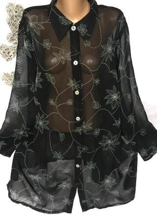 Шикарная рубашка meyer вискоза 100%