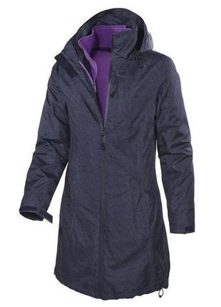 Куртка/плащ/парка с флисовой кофтой