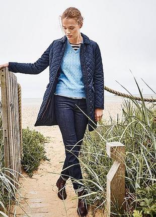 Стильный свитер в косы плотной вязки дорогого бренда crew clothing2