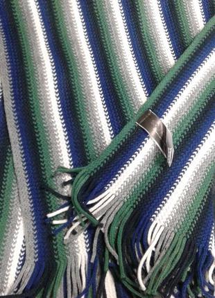 Мужской шарф в полоску takko fashion германия
