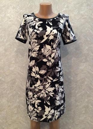 Платье из плотной фактурной ткани с карманами peacocks