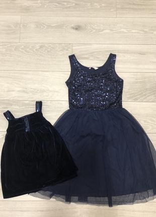 Продам платья в стиле family look, нарядные платья мама/дочка