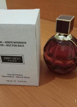 Jimmy choo fever парфюмированная вода тестер100 мл оригинал