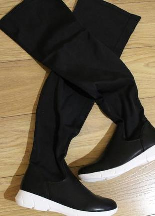 Модные стрейчевые ботфорты-чулки!37,38,39 размеры!смотрите весь товар!