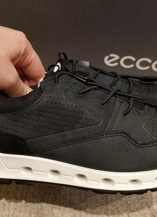 Ecco cool - кожаные полуботинки - кроссовки - 36р2 фото