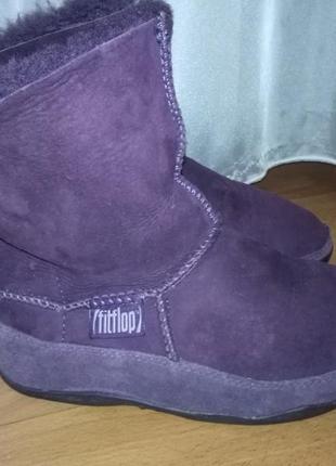 """Зимние ботинки """"fit flop"""""""