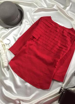 Червона блуза м/л