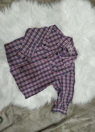 Рубашка хлопковая 92