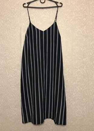 Платье на тонких бретельках