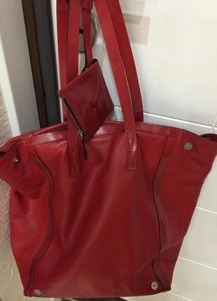 Kenzo сумка шоппер кож. пр.морокко