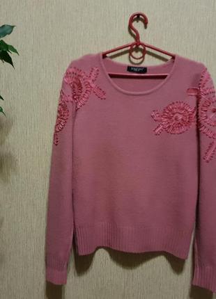Стильный, качественный и нежный свитер tonters, шерсть
