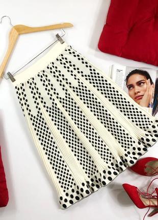 Стильная вязанная юбка винтаж великобритания almost famous