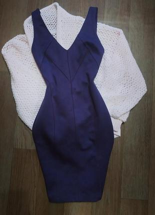 Бандажное платье от miss selfridge. утяжка. платье новый год. новогоднее