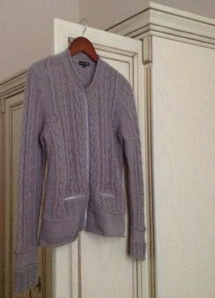 Светер кардиган бренду exclusive by tara mona zip cardigan wool mohair свитер