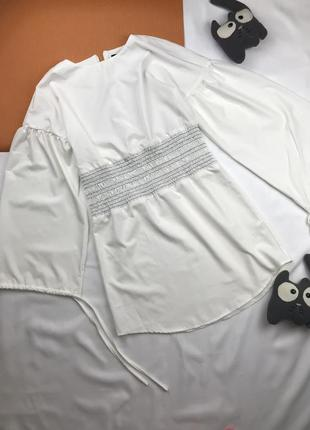 Блуза удлинённая блуза с широким рукавом