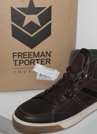 Кожаные ботинки freeman t. porter