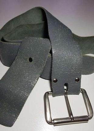 Ремень кожаный, 103 см. в хорошем сост.