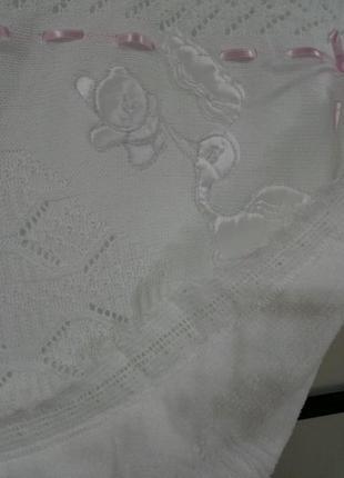 Детский плед-крыжма.подарок новорожденному5 фото