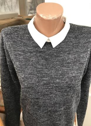 Стильный свитер-рубашка сост идеал