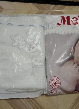 Детский плед-крыжма. подарок новорожденному.