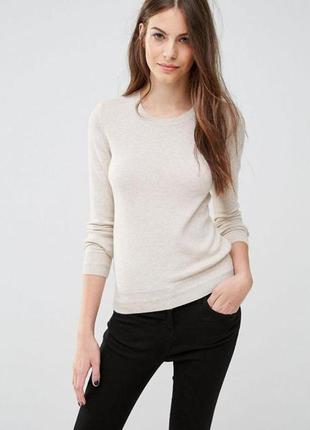 Базовый шерстяной свитер с кашемиром от sisley/xs