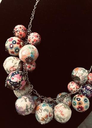 Ожерелье бохо hand made