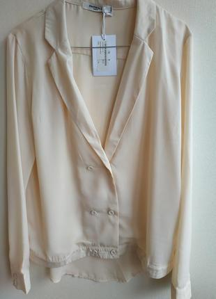 Оригинальная стильная блуза французского бренда sweewё