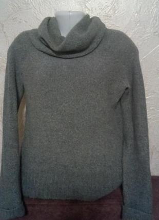 """Серый пуловер""""camaieu"""""""