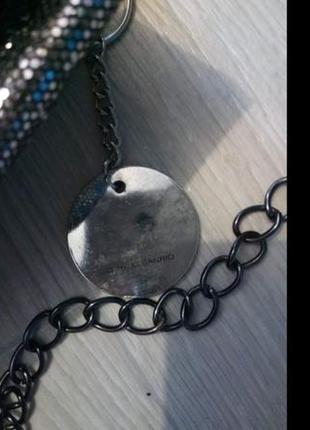 Сумка серебро4