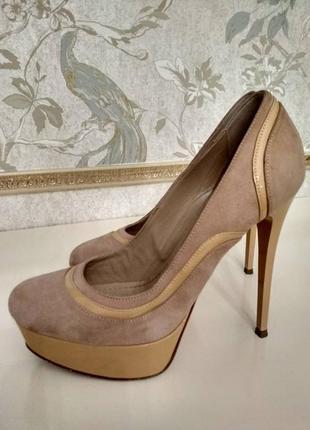 Шикарные итальянские туфли pinko