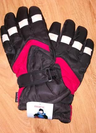 Перчатки лыжные на 12-14 лет