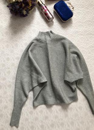Opus серая кофточка - свитер в рубчик s-m размер
