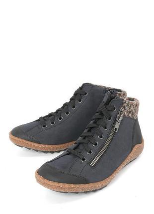 Ботинки зимние rieker / в идеале