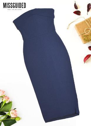 Длинное обтягивающее платье missguided