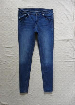 Стильные джинсы скинни h&m, 16 размер .