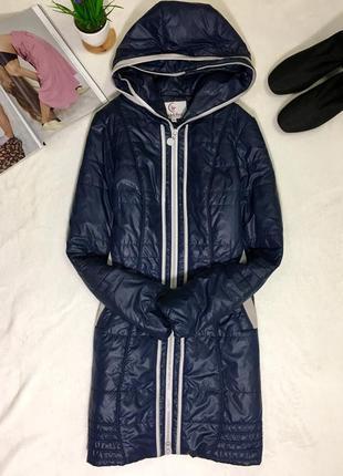 Пуховик - пальто с замочками